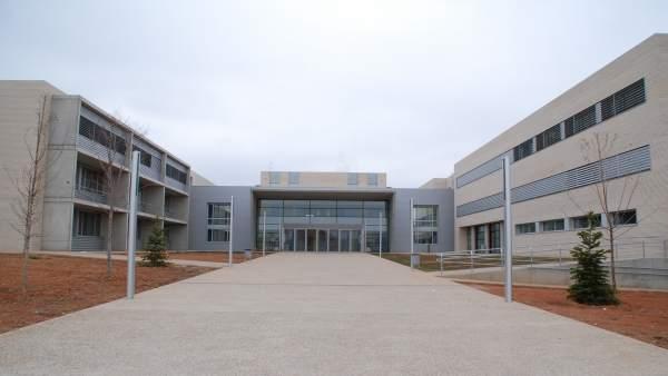 Exterior del IES Segundo de Chomón de Teruel.