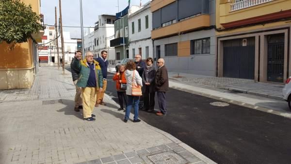 Visitan tras las obras en Cobo de Guzmán