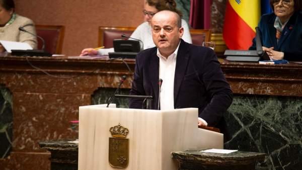 El diputado del grupo parlamentario Popular, Javier Iniesta
