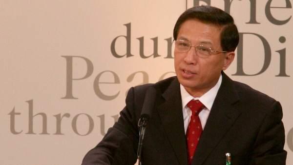 Zhang Yesui, el portavoz del plenario de la Asamblea Nacional Popular