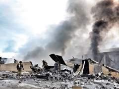 Incendio en una fábrica de Crevillent (Alicante)