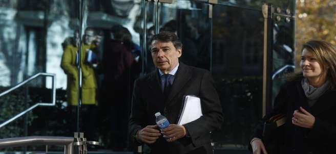 Ignacio González llega a la Audiencia Nacional a declarar