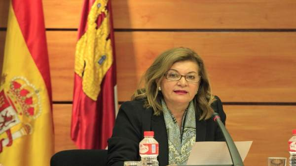Carmen Amores, RTVCM, CCMedia, en Cortes