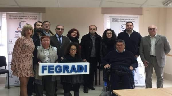 El PSOE se reúne con Fegradi