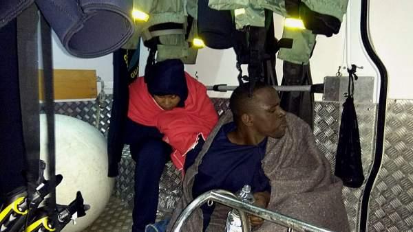 Subsaharianos rescatados