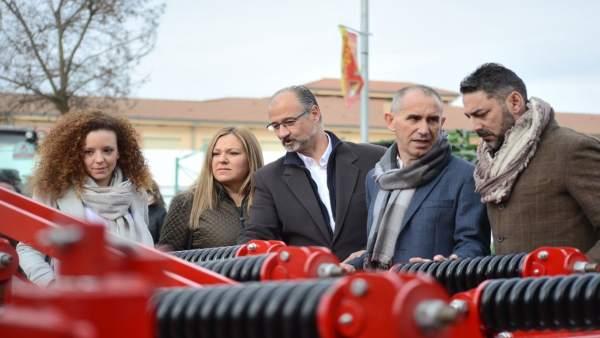 Segovia.- Fuentes visita la Feria del Caballo de Fuentepelayo