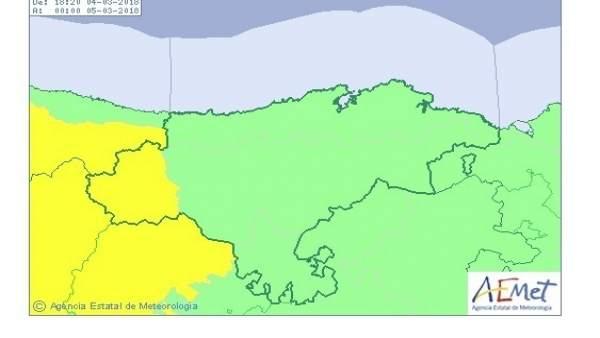 Liébana en aviso amarillo por viento
