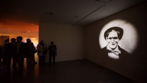 Exposición del payaso Marcelino en Huesca.