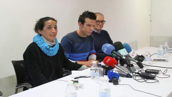 Rueda de prensa de los padres de Gabriel, el niño desaparecido en Níjar