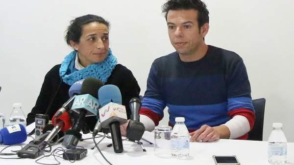 Los padres de Gabriel Cruz, en rueda de prensa