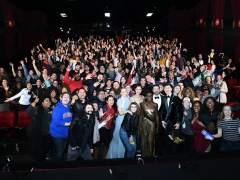Foto en el Teatro chino en Los Ángeles