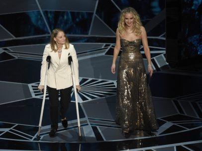 Jodie Foster y Jennifer Lawrence