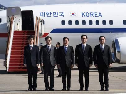 Delegación de Corea del Sur