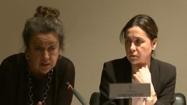 Belen Menéndez Bañuelos y Dolores Carcedo