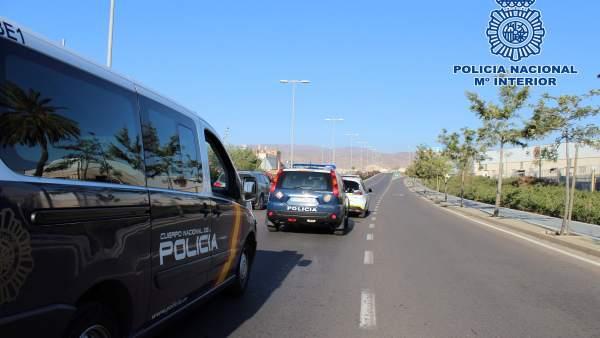 La Policía Nacional Detiene En Almería Al Presunto Autor De Un Robo Con Violenci