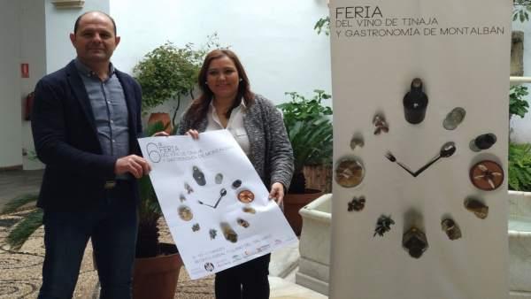 Carrillo y Ruz presenta la VI edición de la Feria del Vino de Tinaje