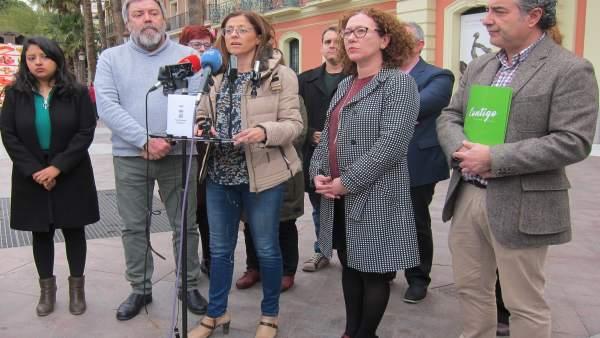 PSOE, AHORA MURCIA, CAMBIEMOS Y CONCEJAL TRIGUEROS