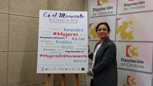 Guijarro presenta las actividades con motivo del 8-M