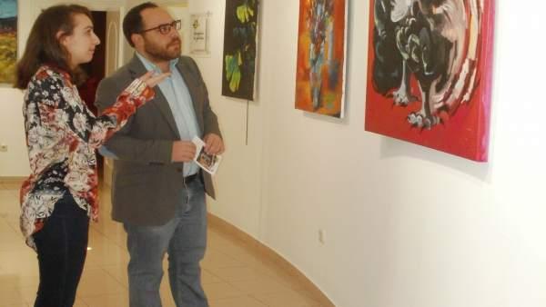 Exposición de Ariadna González.