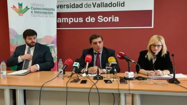 Arranca la Cátedra de Caja Rural de Soria.