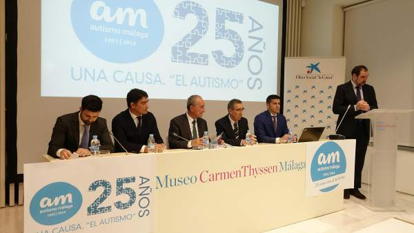 Presentación actividades Autismo Málaga