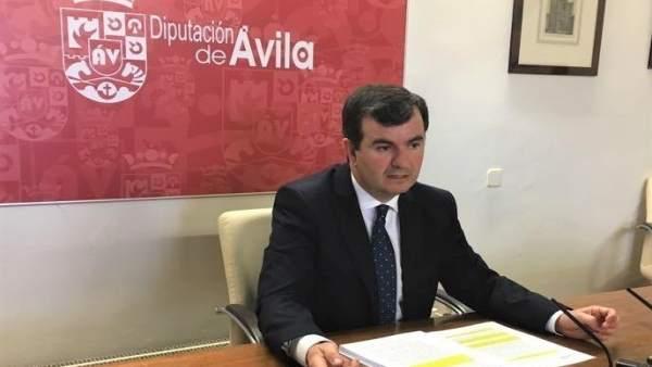 El portavoz de la Diputación, Juan Pablo Martín