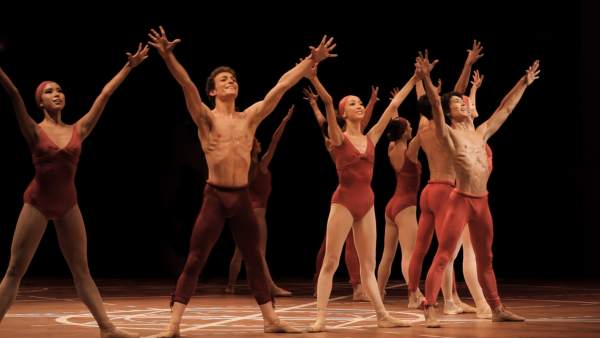 Fotografa de la película  'Dancing Beethoven'