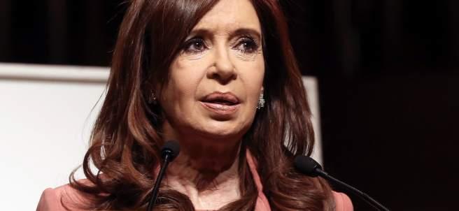 La expresidenta argentina Cristina Fernández