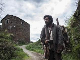 Mario Casas durante su última película, 'Bajo la piel del lobo'.