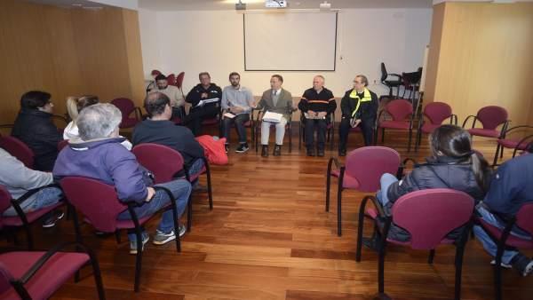 Reunión de afectados por temporal con el Ayuntamiento de El Puerto