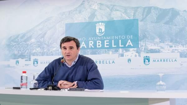 El portavoz del equipo de gobierno Félix Romero