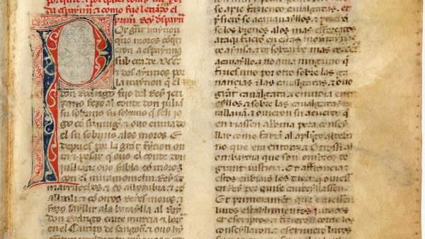 Manuscrito del Amejoramiento del Fuero General de Navarra