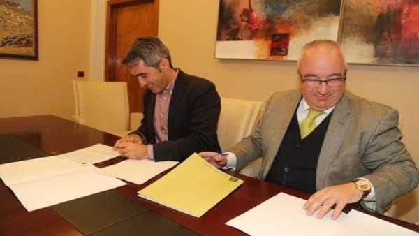 Firma convenio Benalmádena Andalucía Emprende