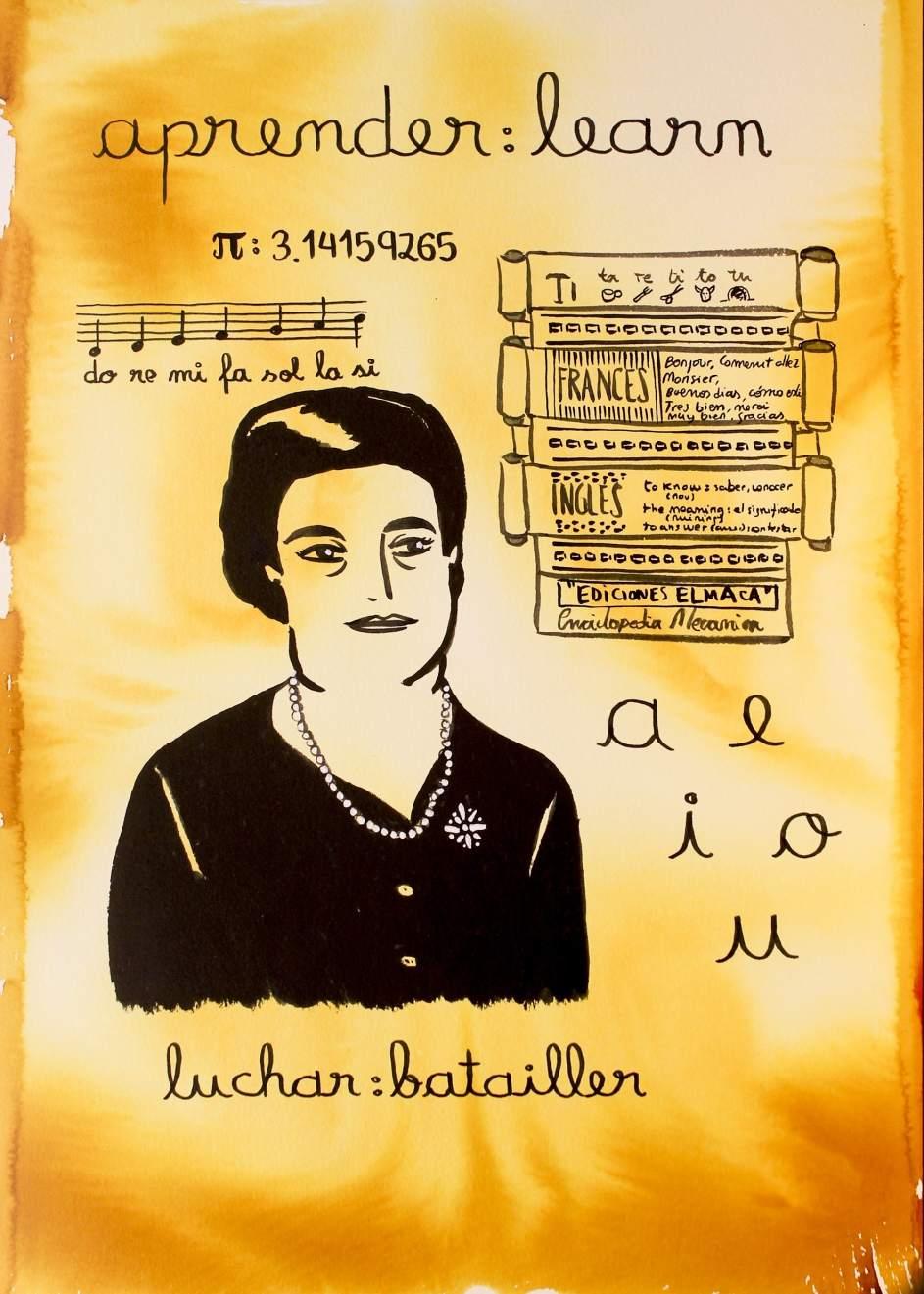 Ilustración de Ángela Ruiz Robles