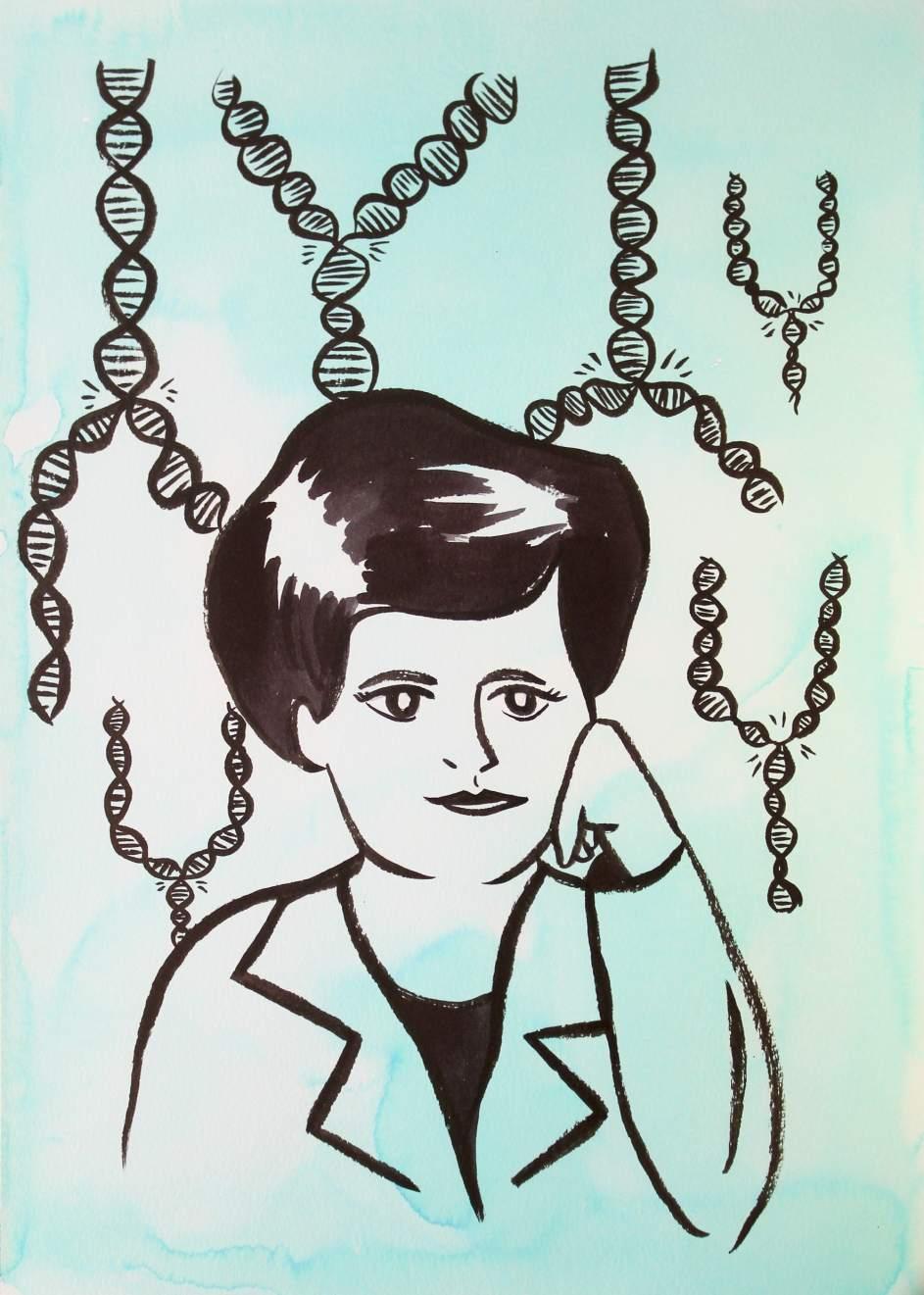 Ilustración Margarita Salas