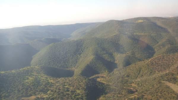 Imagen de la Sierra Morena de Córdoba