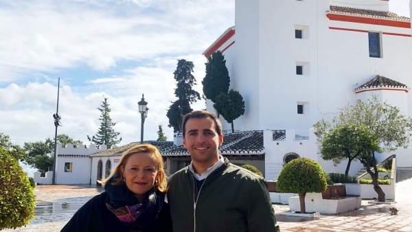 Marivi Romero en Alozaina