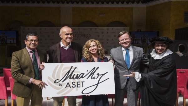 Presentación de las actividades gastronómicas de ASET para el Año Murillo