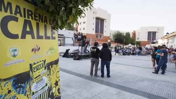 El festival 'Mairena de calle'