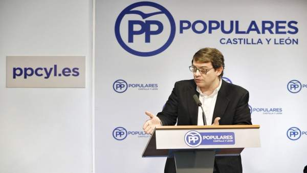 Intervención de Fernández Mañueco ante el comité