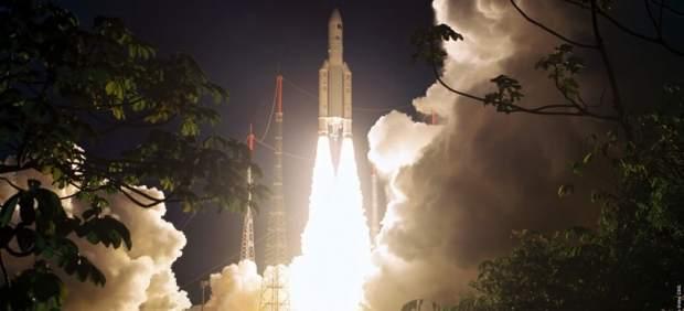 Lanzamiento de satélite