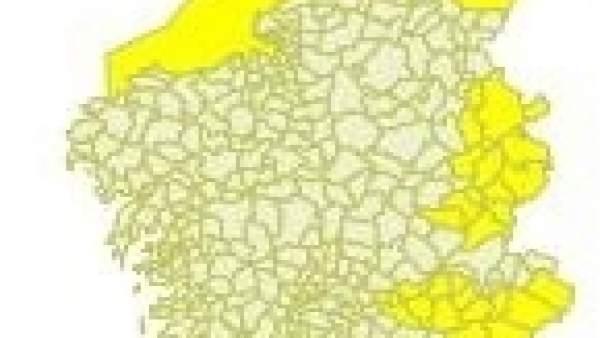 Aviso del tiempo del día 6 de marzo en Galicia