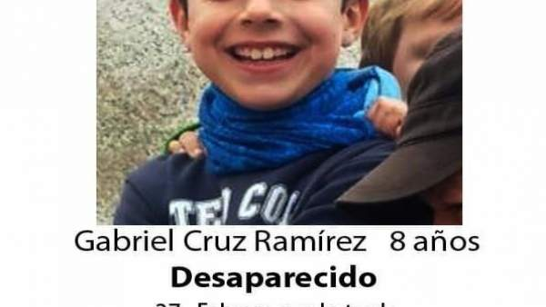 El niño de ocho años desaparecido en Níjar (Almería)