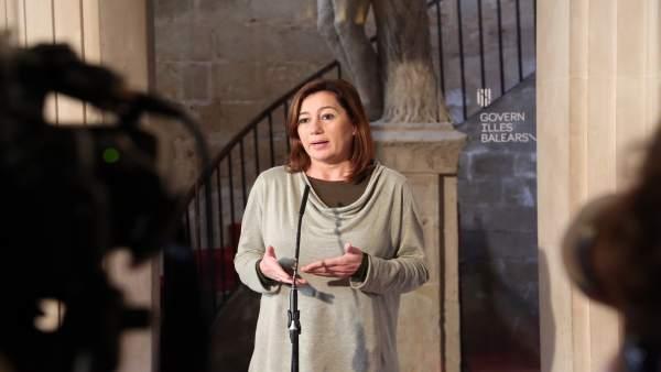 Francina Armengol en Consolat de Mar