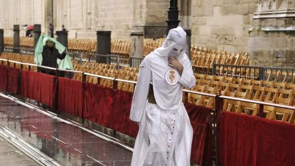 Lluvia en Semana Santa Sevilla