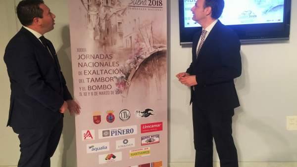 Celdrán y Moreno, presentan las Jornadas nacionales de exaltación del tambor