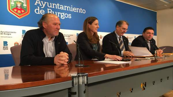 Ángel Citores, Gema Conde, Miguel Ángel Benavente y Pablo Fraile.