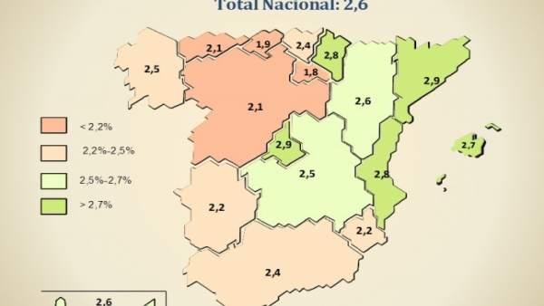 Mapa PIB