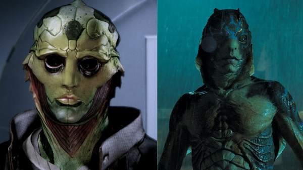 Mass Effect y 'La forma del agua'