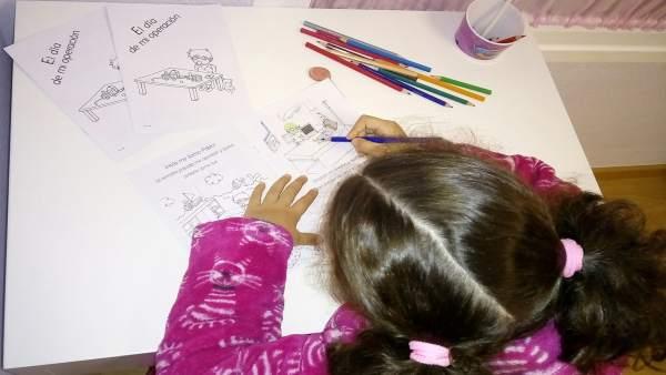 El Hospital de València edita un cuento quirúrgico para niños